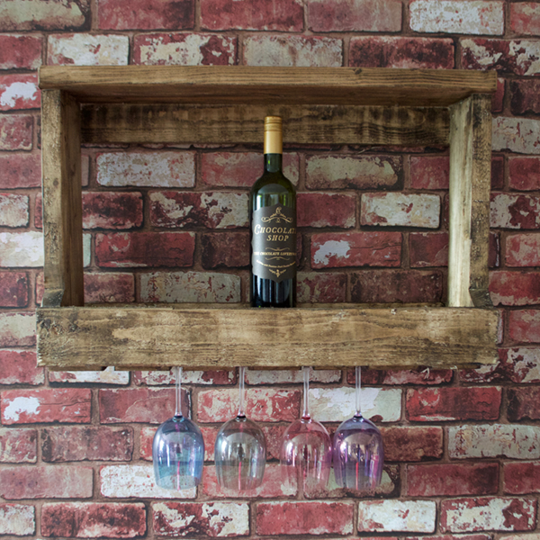 Glass and Wine Rack